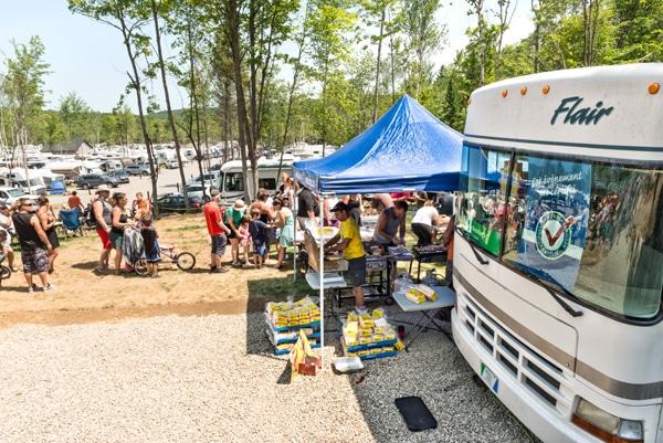 family camping, fédération québécoise du camping et du caravaning, camping Atlantide
