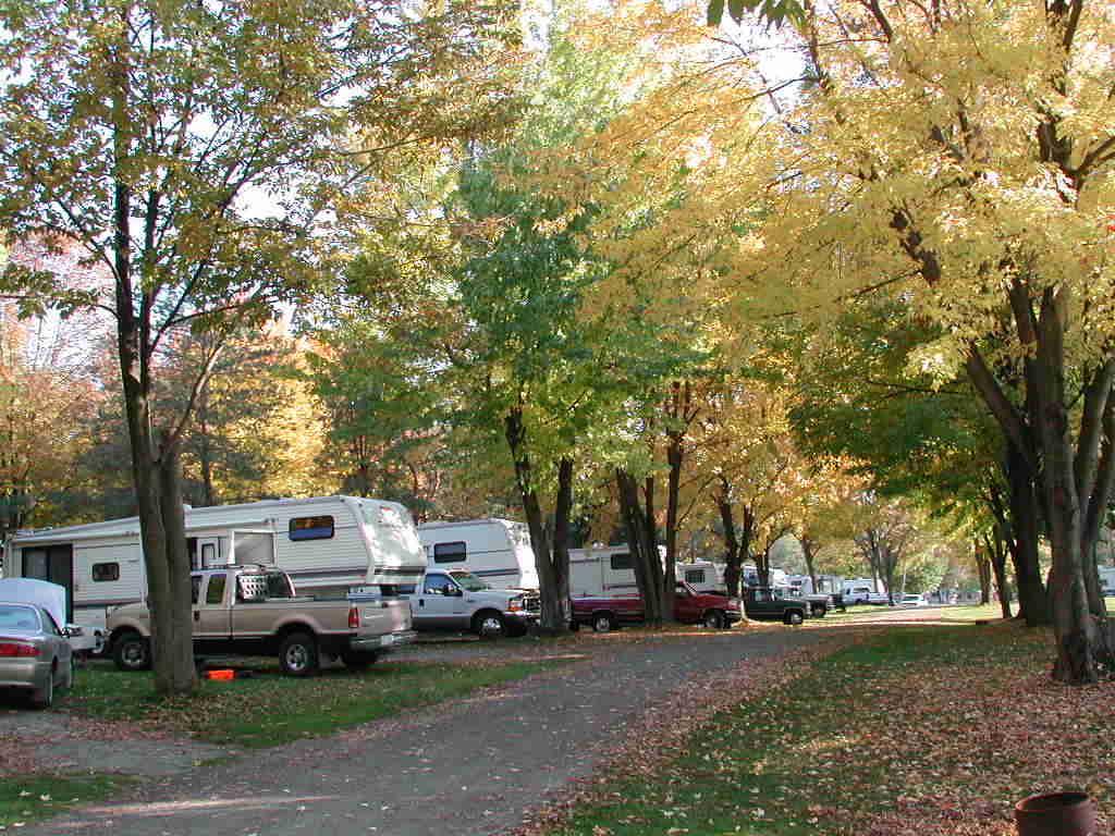 Du caravaning en automne