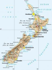 NZ carte
