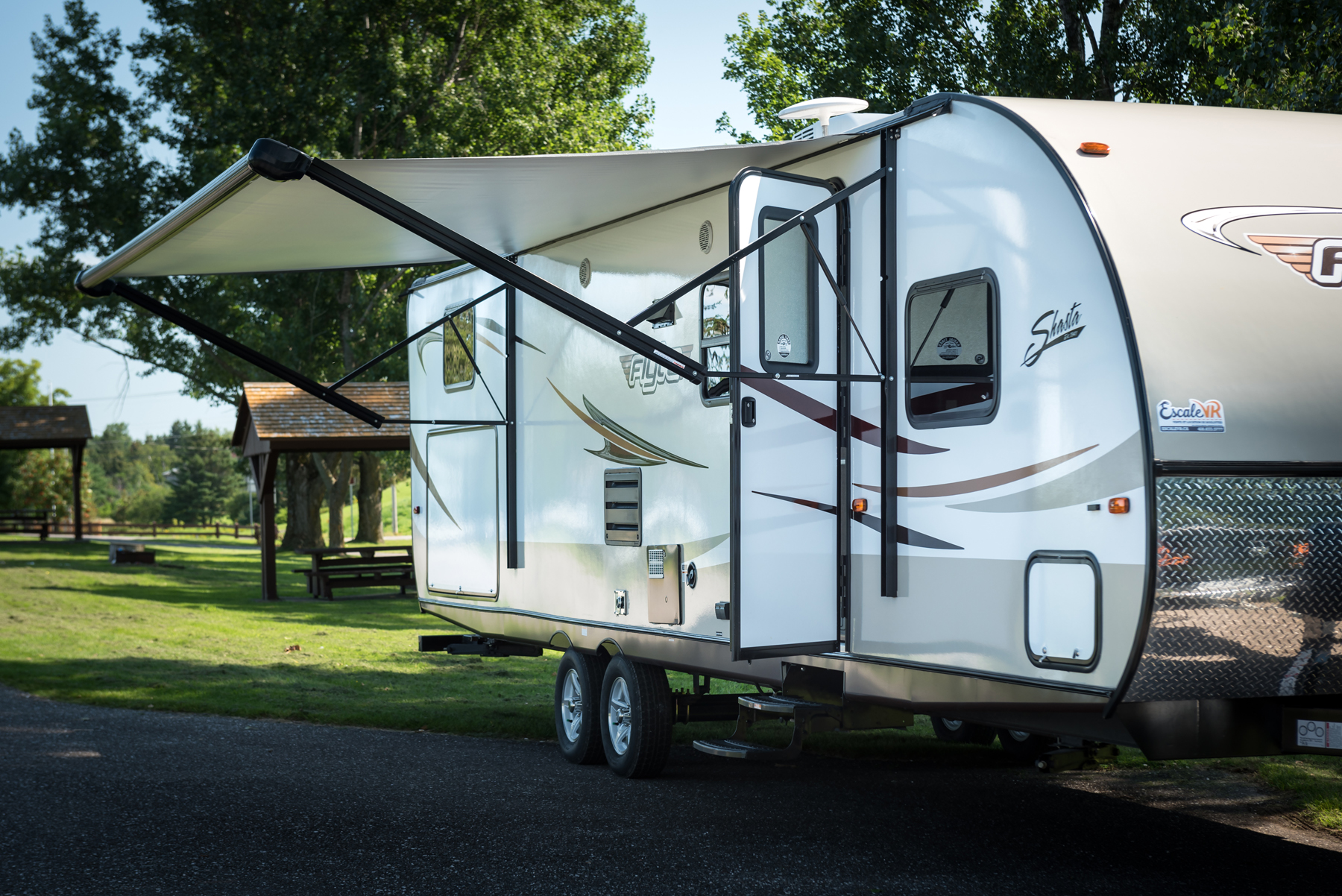 road test of the Shasta Flyte 3150K trailer by Forest River
