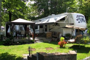 Camping L'EstriVal Cottage and RV Resort in Granby, Quebec