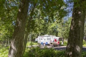 Camping Anse-à-William (camping en tente, camping en VR, tente Huttopia)